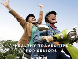 HEALTHY TRAVEL TIPS FOR SENIORS