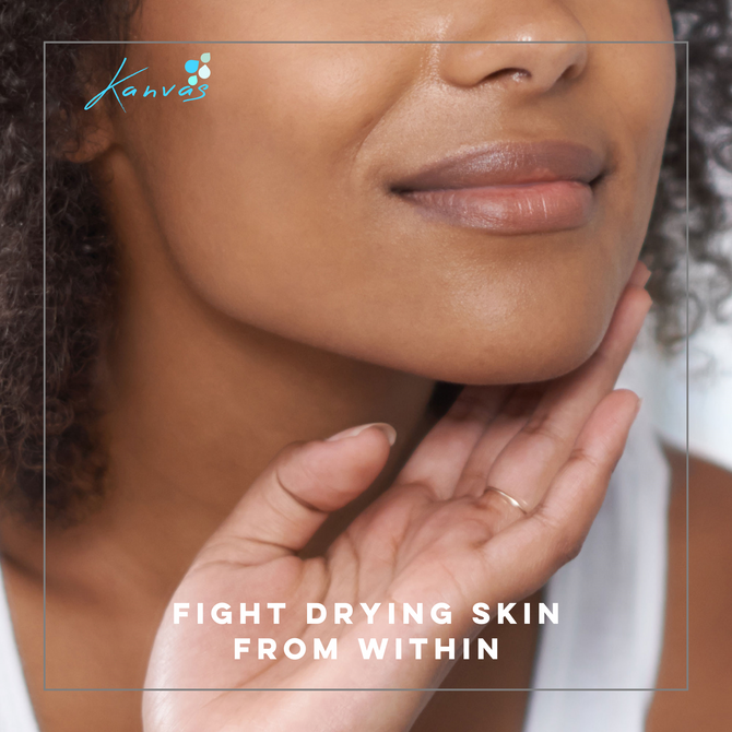 FIGHT DRYING SKIN FROM WITHIN