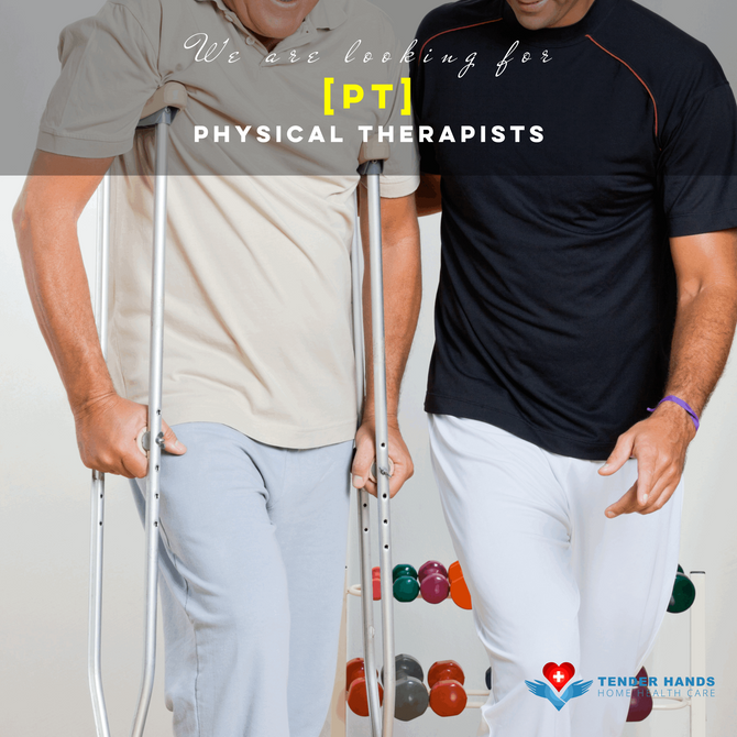 WE ARE LOOKING FOR PHYSICAL THERAPISTS [PT]