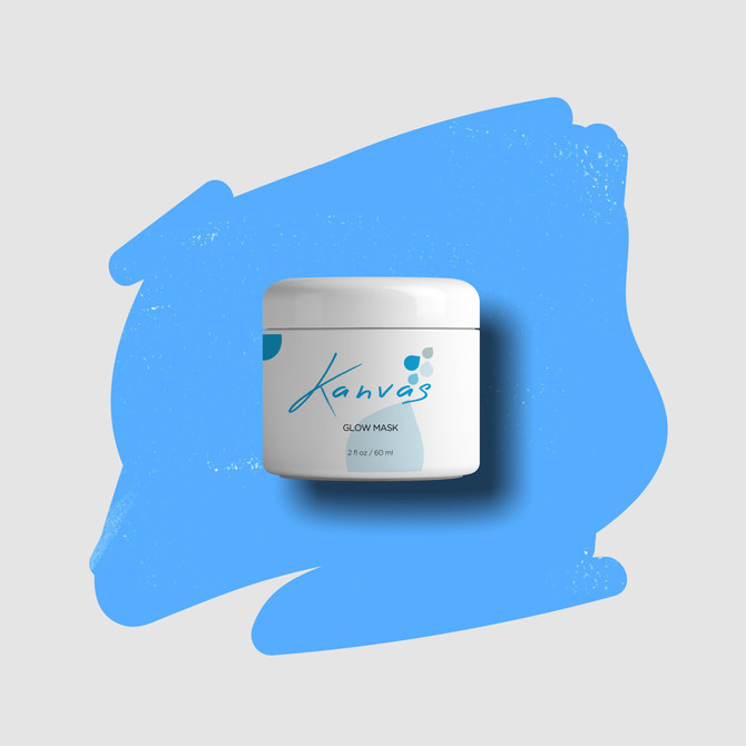 SPOTLIGHT ON KANVAS SKINCARE GLOW MASK