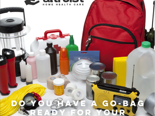DO YOU HAVE A GO-BAG READY FOR YOUR SENIOR?