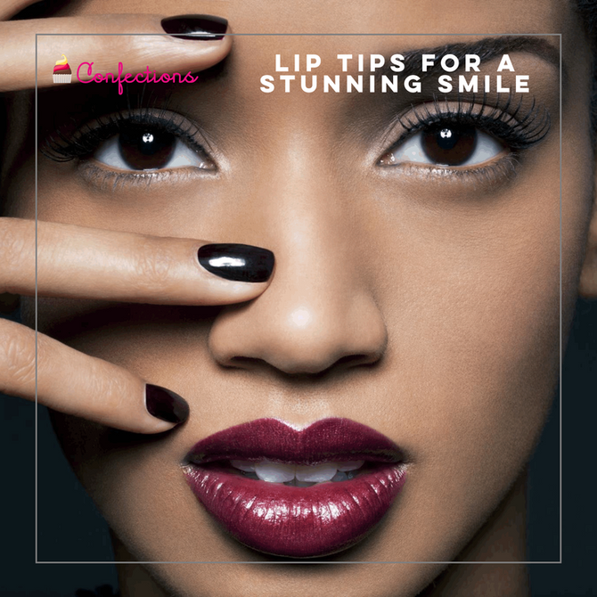 LIP TIPS FOR A STUNNING SMILE