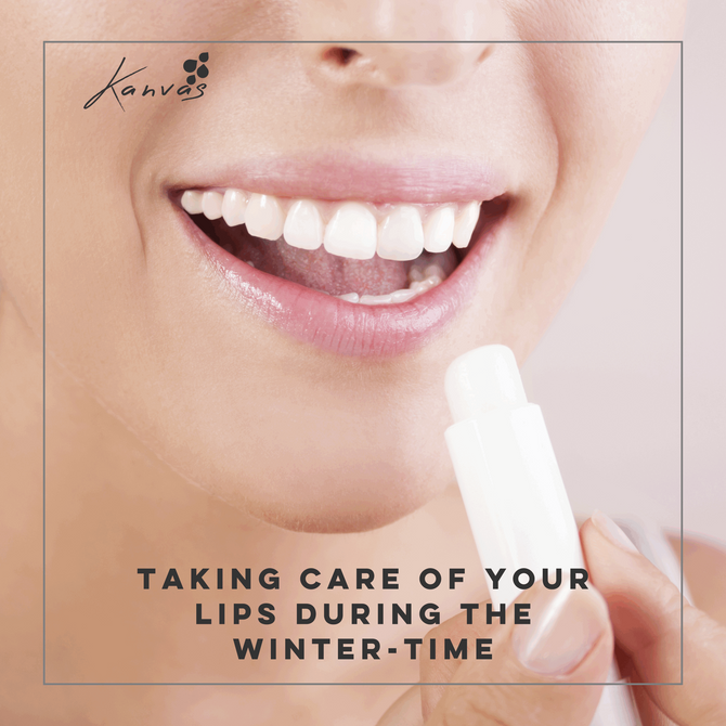 TAKING CARE OF YOUR LIPS DURING THE WINTER-TIME