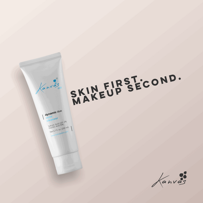 SKIN FIRST. MAKEUP SECOND.