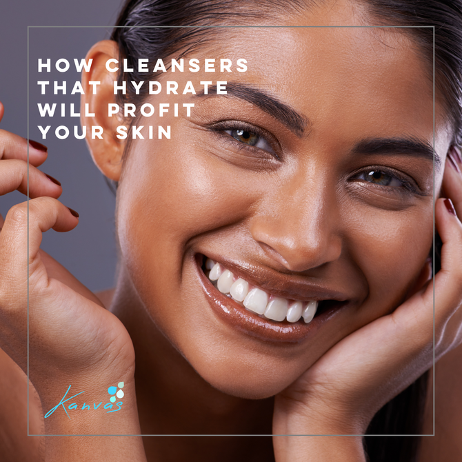HOW CLEANSERS THAT HYDRATE WILL PROFIT YOUR SKIN
