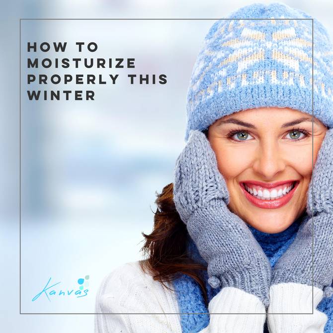 HOW TO MOISTURIZE PROPERLY THIS WINTER