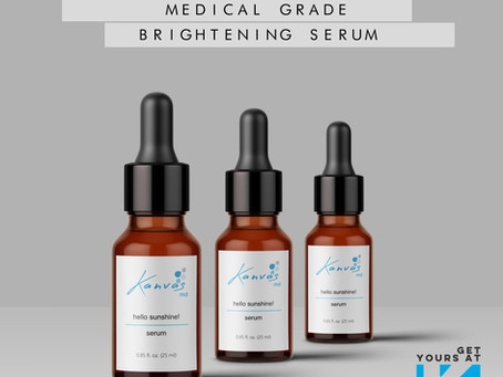 MEDICAL GRADE BRIGHTENING SERUM-  SPOTLIGHT ON HELLO SUNSHINE!