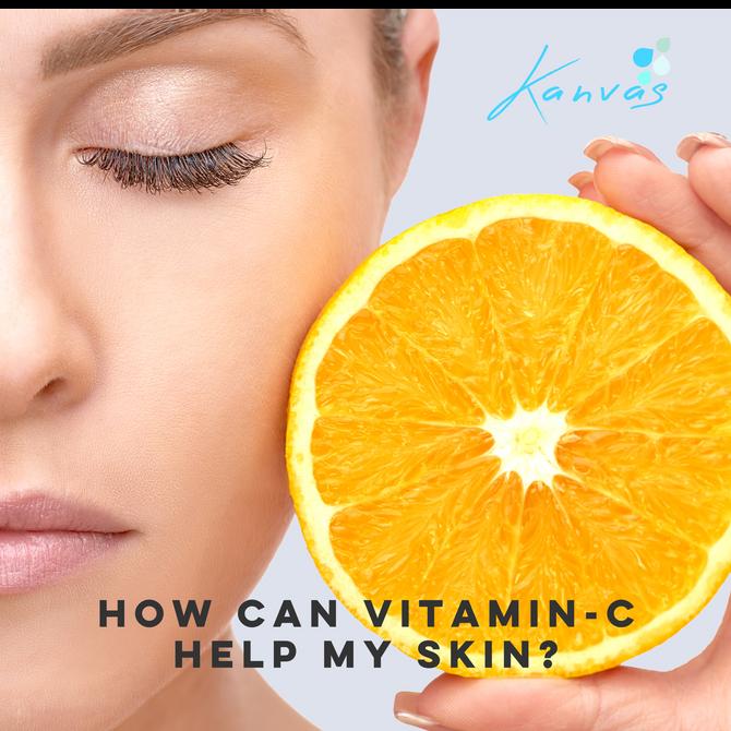 HOW CAN VITAMIN-C HELP MY SKIN?