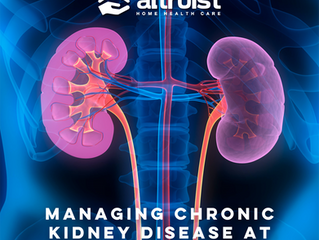 MANAGING CHRONIC KIDNEY DISEASE AT HOME