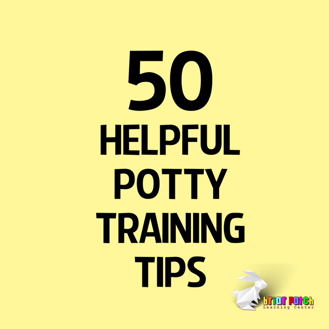 50 HELPFUL POTTY TRAINING TIPS