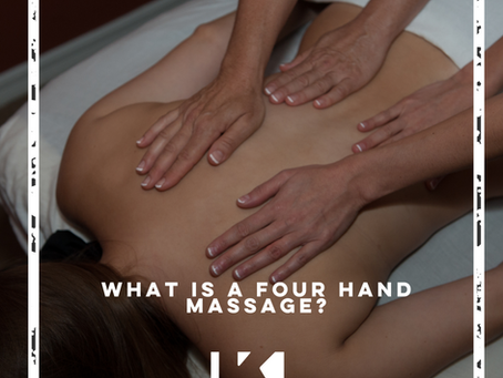WHAT IS A FOUR HAND MASSAGE?