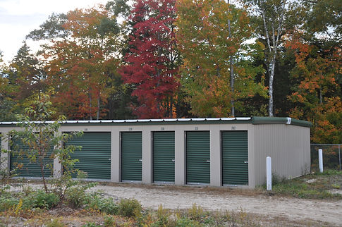 Self-Storage Drive Up Units