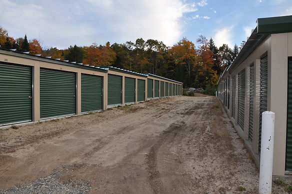 Self-storage near blue hill maine in Sedgwick and Brooksville.  This is our Catepillar Hill location.