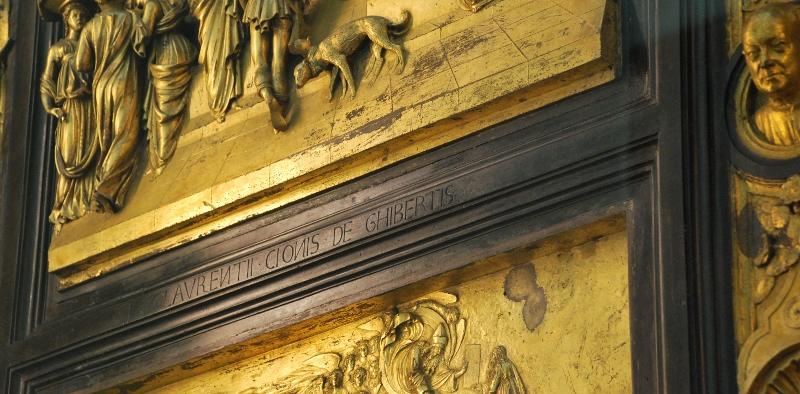 Porta del Paradiso, Ghiberti