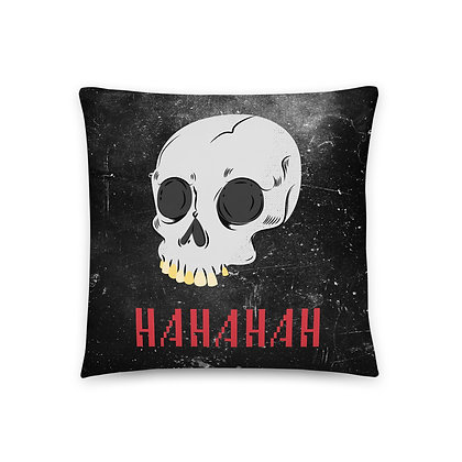 Devil's Advocate Throw Pillow