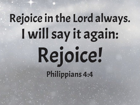 Eat, Be Glad, and Rejoice!