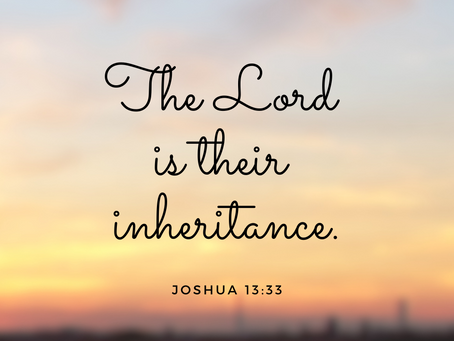 Your inheritance is . . .
