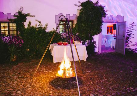 ...oder eine über offenem Feuer gekochte Mitternachtssuppe auf Sie warten.