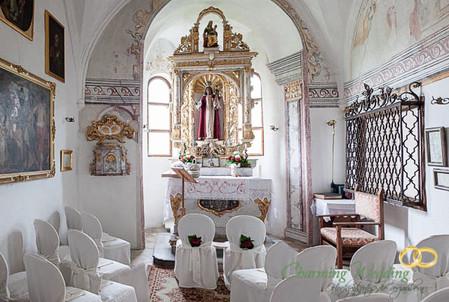 ...oder in der historischen St. Anna-Kapelle