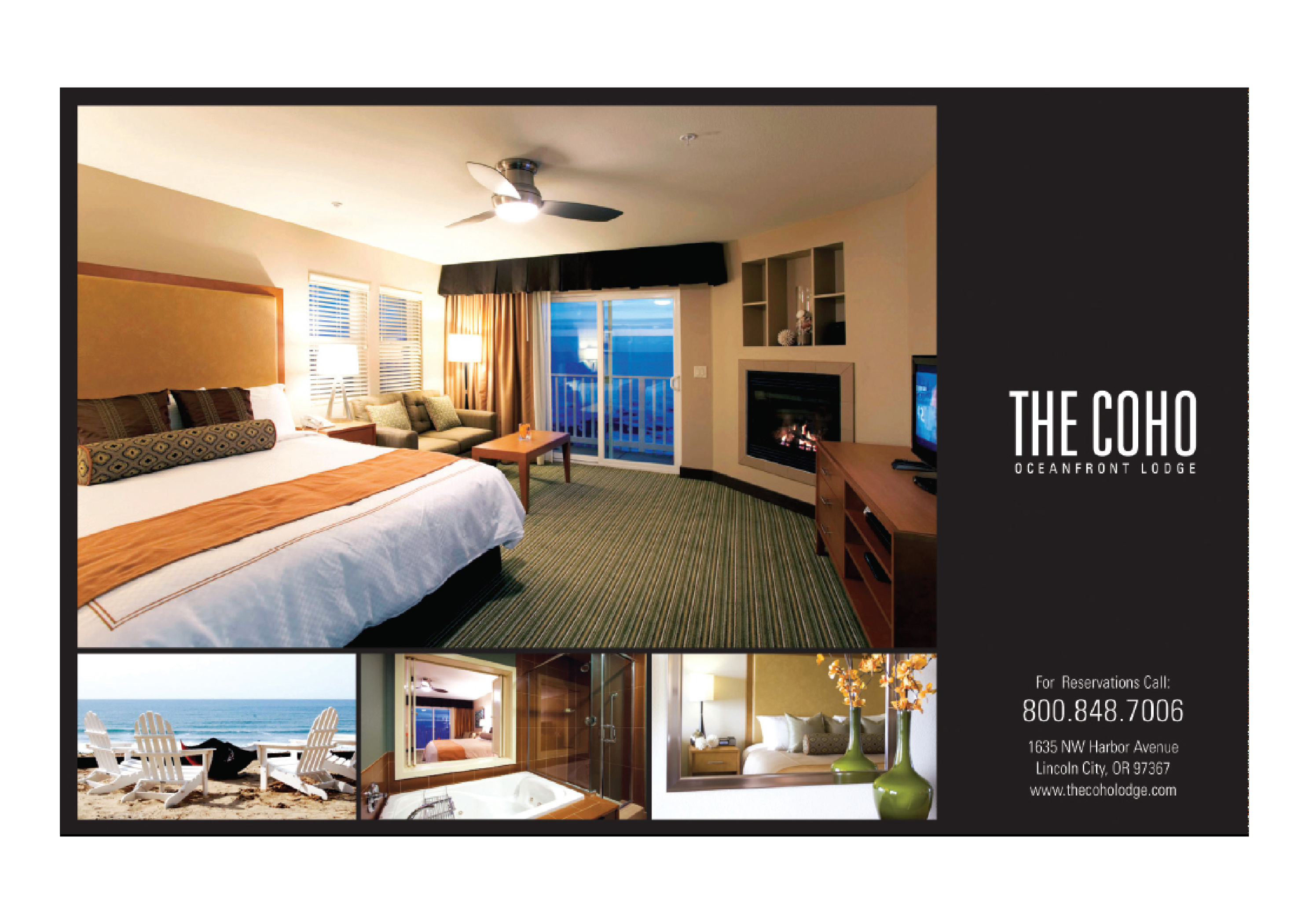 The Coho Lodge Hotel Marketing