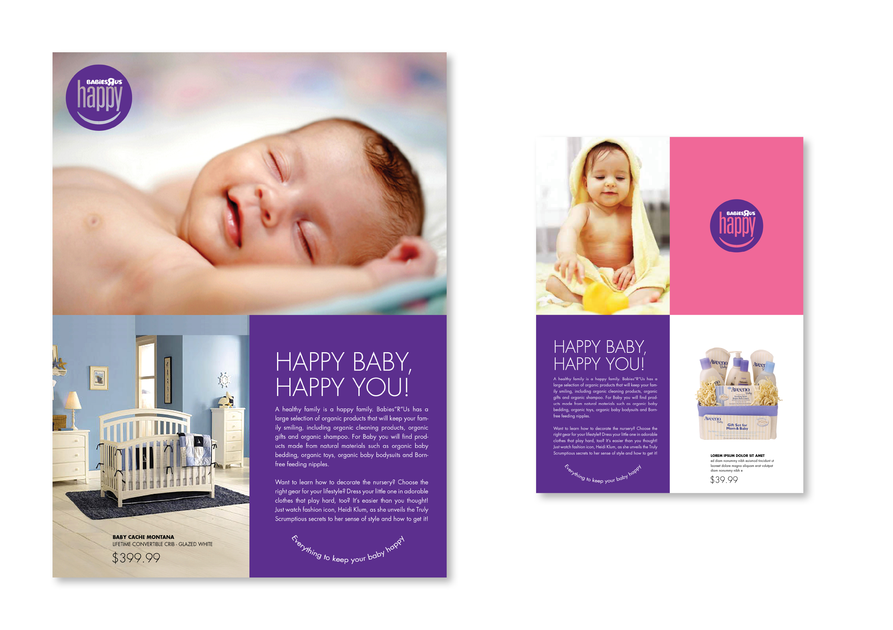 Happy Babies'R'Us Ad Campaign