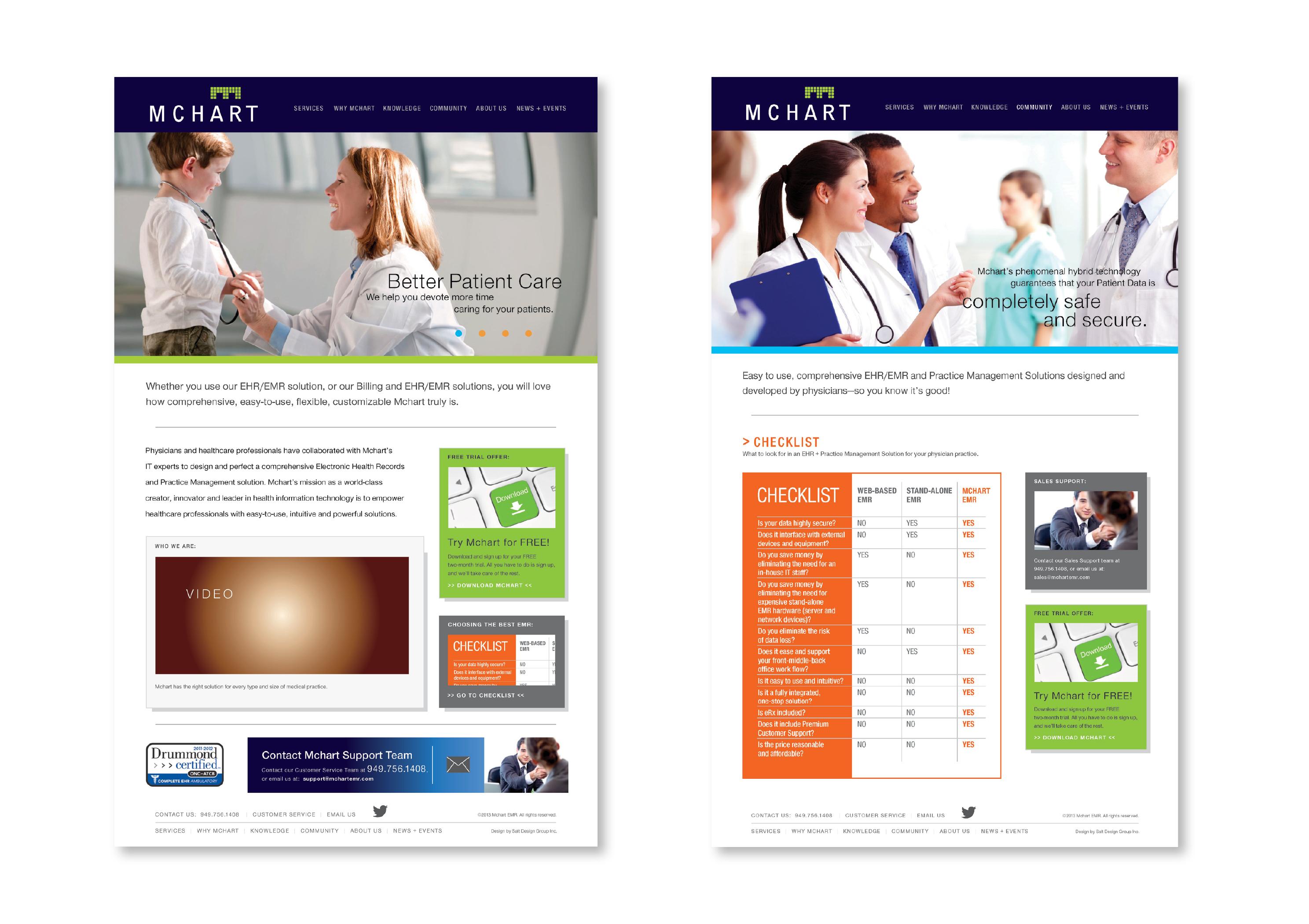 MChart Web Design