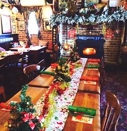 christmas like in britain uk england festive roast beef turkey and ham
