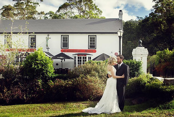 affordable quality weddings with british speciality menu and country style setting