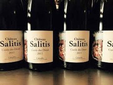 6 x Bottles of Château Salitis Cuvée des Dieux Rouge millésime 2011