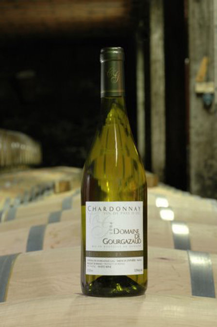 6 x Bottles of Domaine de Gourgazaud Chardonnay élevé en barrique 2016