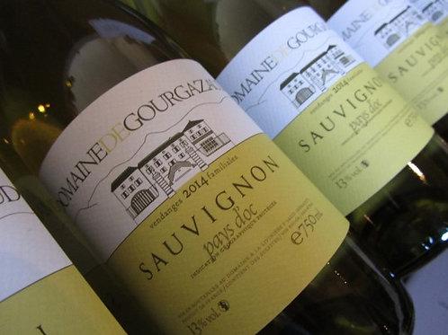 6 x Bottles of Domaine de Gourgazaud Sauvignon Blanc 2016