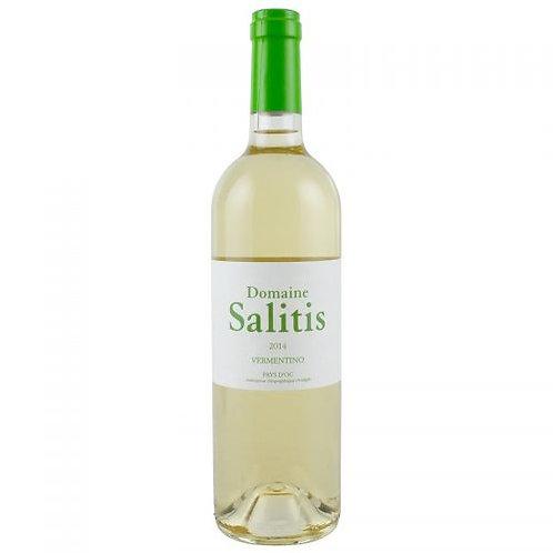 6 x Bottles of Domaine Salitis Pays d'Oc Vermentino Blanc 2016 Certifié BIO
