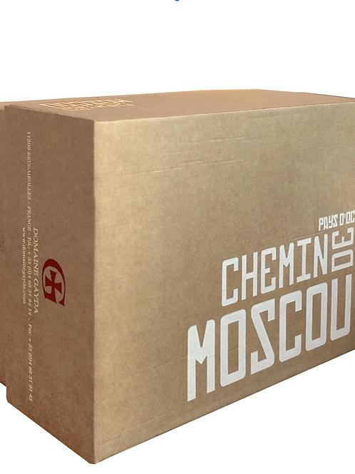 6 x Bottles of Chemin de Moscou Bio 2014 - 75cl Rouge