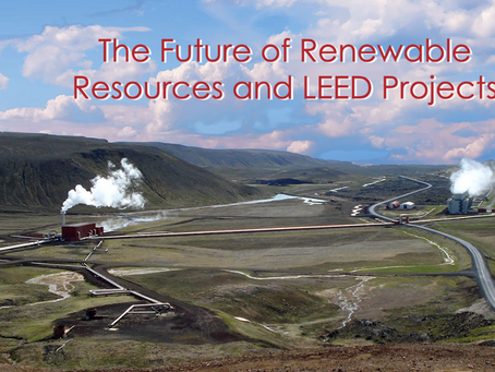 LEED Week 2021 Feature: The Future of Renewable Resources and LEED Projects