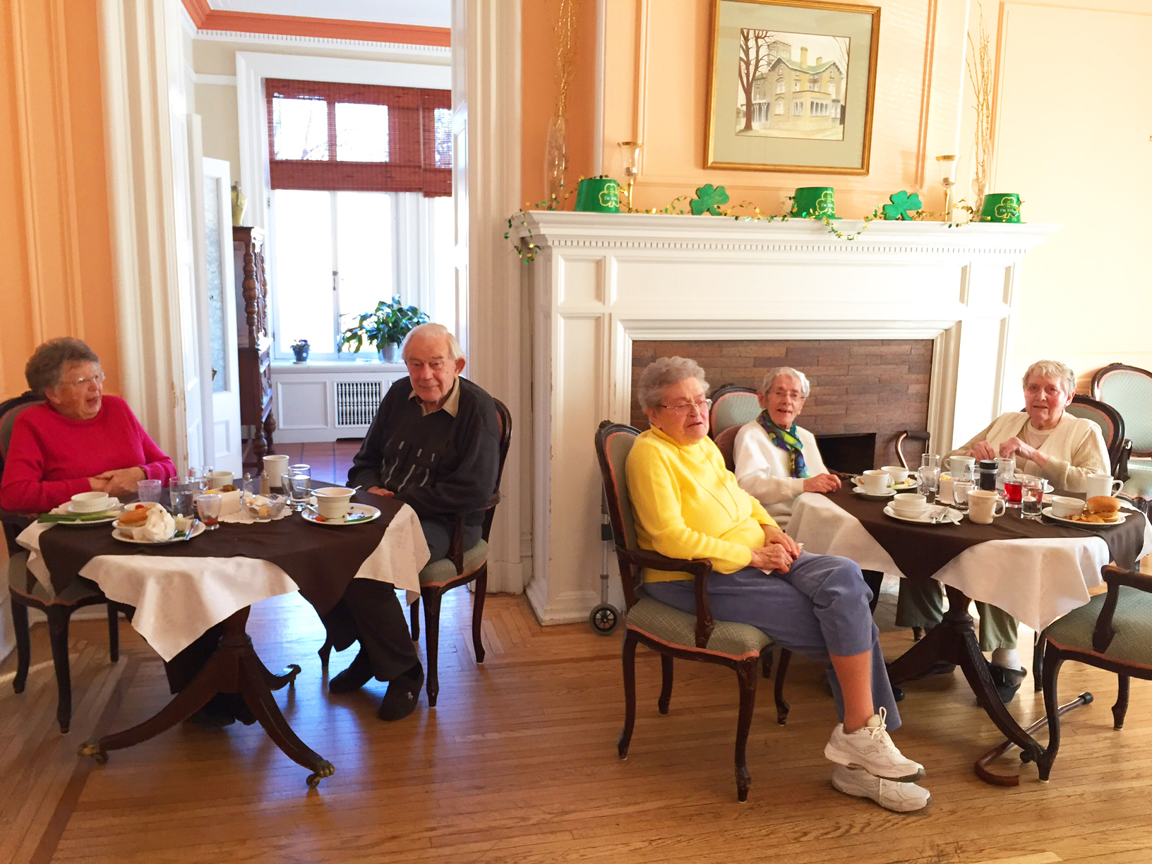 Residents at Lunch
