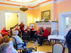 Band at Christmas