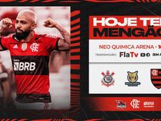 Corinthians x Flamengo: veja onde assistir, escalações, desfalques e arbitragem