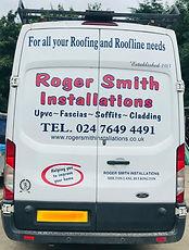 Roger Smith Installations work van