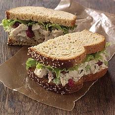Turkey Cran Pecan Sandwich
