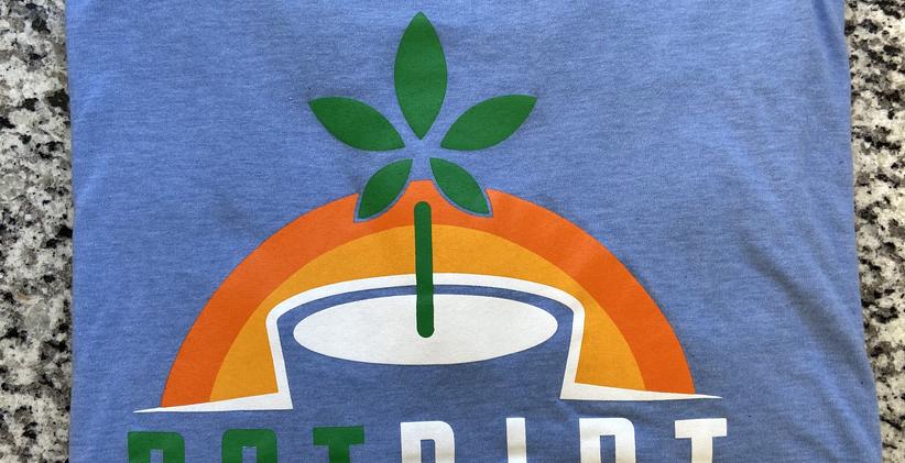 Blue PotDirt T-Shirt