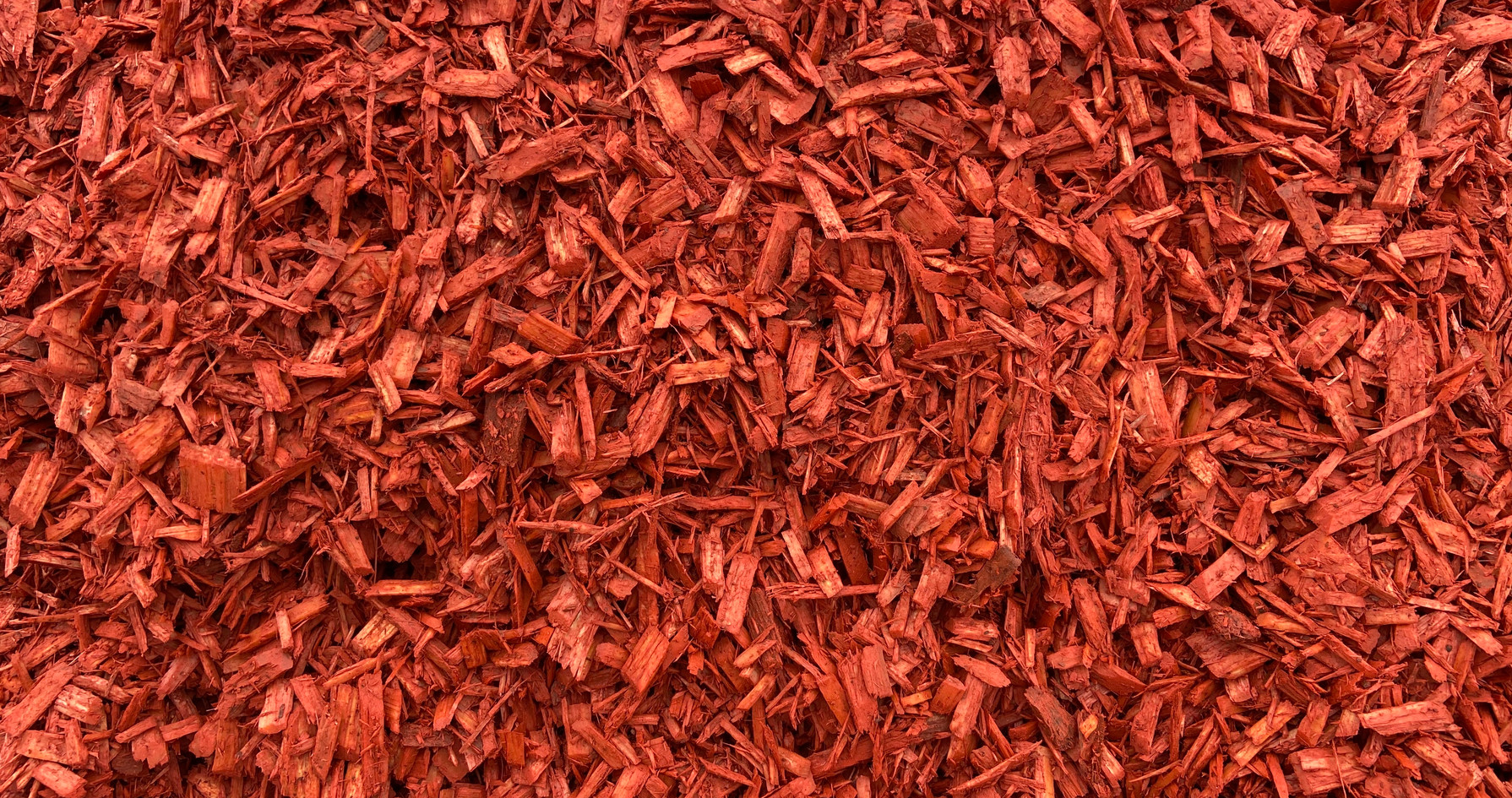 Red Colored Mulch