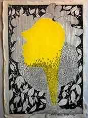 Tête jaune