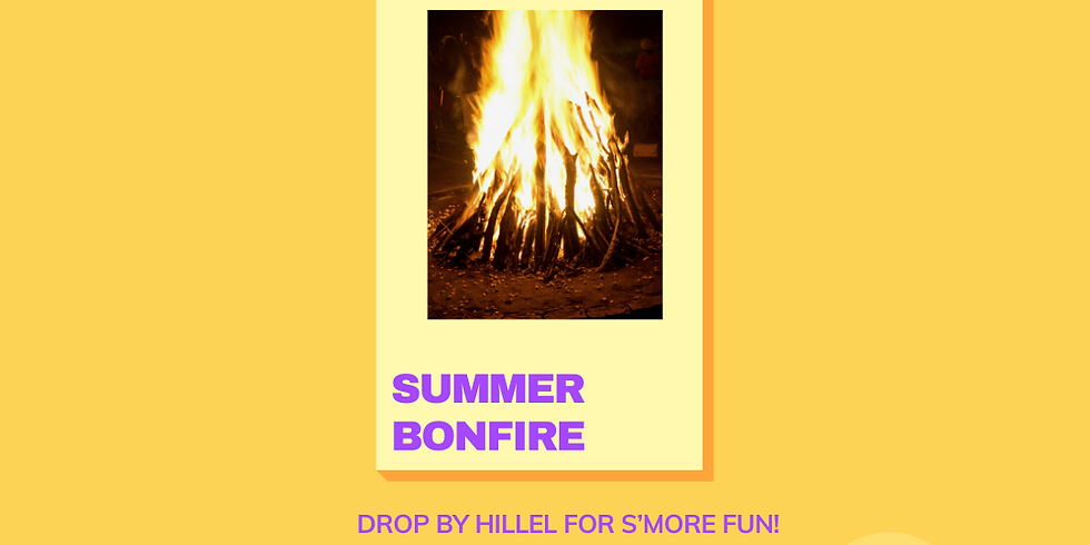 Summer Bonfire July 20th 2021 - 7pm