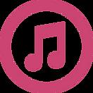 itunes-logo-of-amusical-note-inside-a-ci
