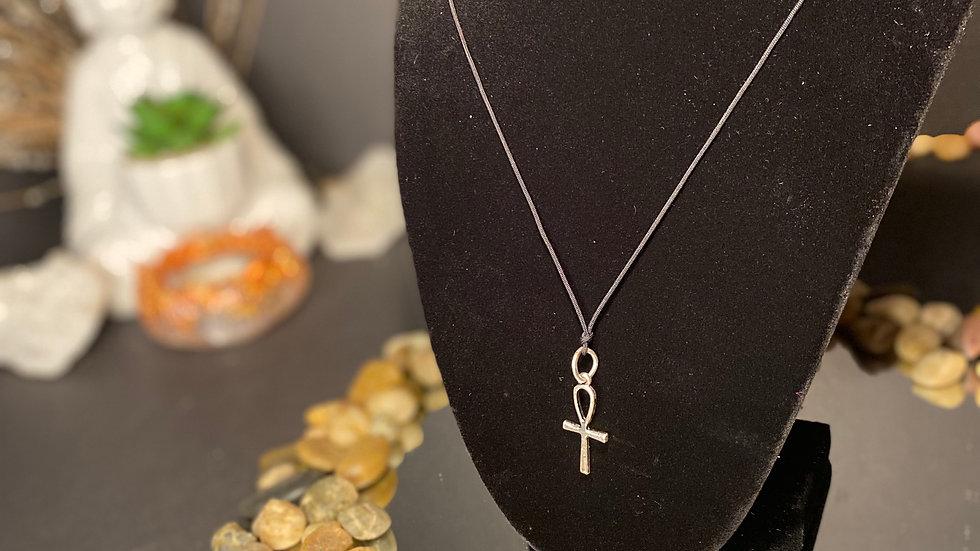 Silver Ankh necklace