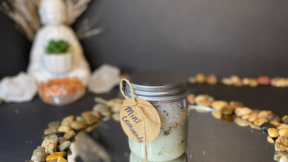 Mint Lemonade Sugar Scrub
