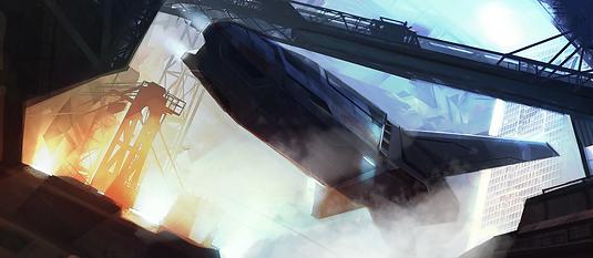 Sci-fi Storyboards