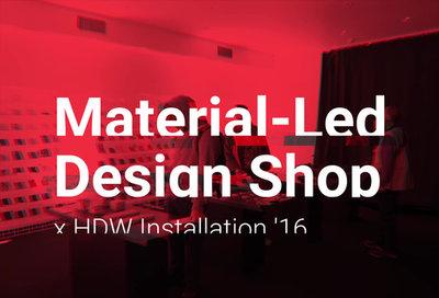 Material-Led Design Shop