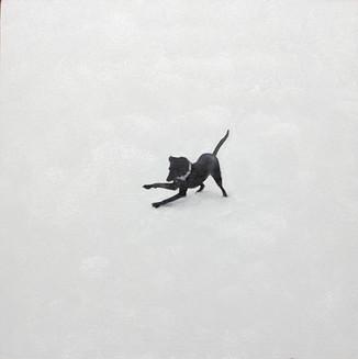 Loretta in snow #5