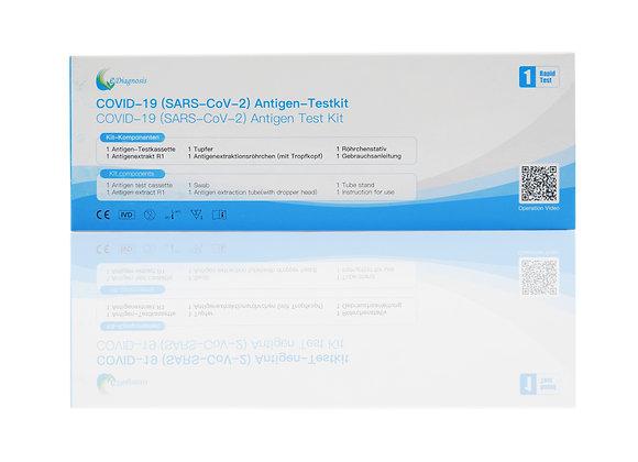 eDiagnosis Corona Antigen Rapid Test Kit Schnelltest Nasal Kit 1 Test